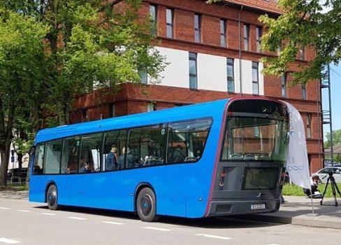 Revolution in Klaipeda electric buses